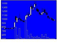 6031サイジニアの株式チャート